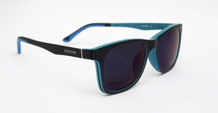 blue eyeglasses