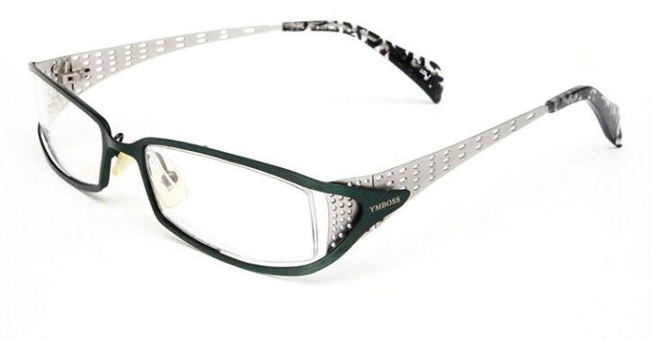Rectangle eyeglasses 19469 Side